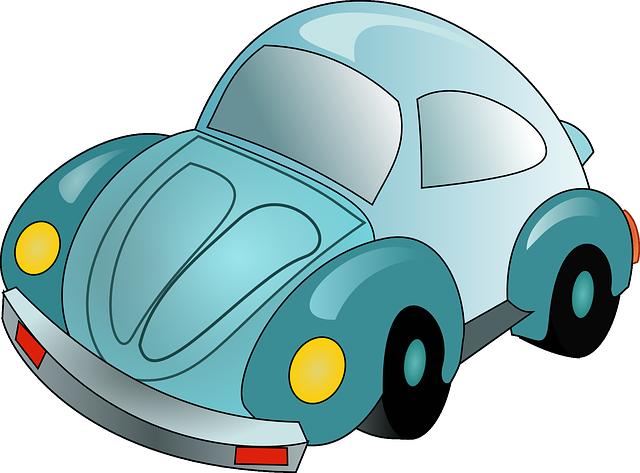 איור של רכב חיפושית