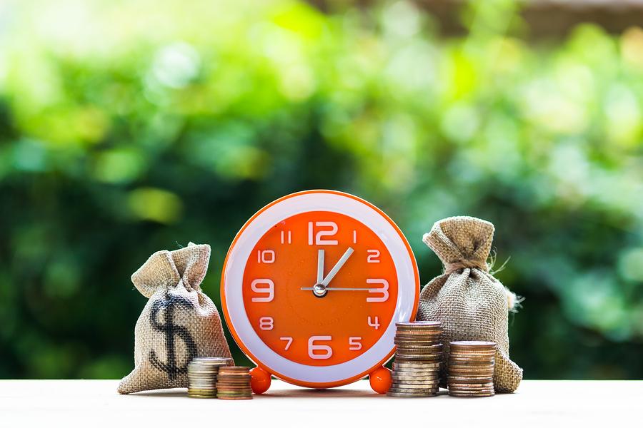 שעון שממחיש זמן וכסף